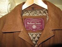 A gorgeous designer MARLBORO CLASSICS Mens jacket, size large, beautiful condition. BARGAIN