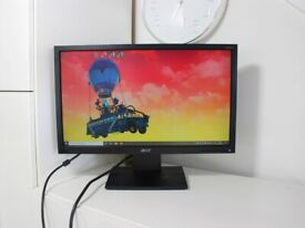 Acer 20inch Widescreen LCD Monitor