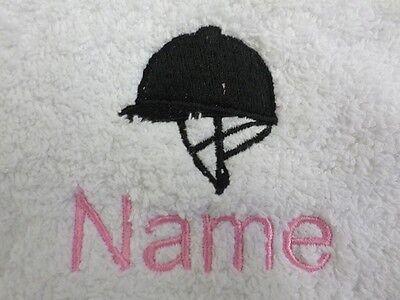 equitazione Cappello ricamato ONTO asciugamani, bagno tuniche, con cappuccio