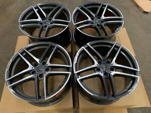 18 Mercedes AMG Style Staggered Wheels (Mercedes Cars)