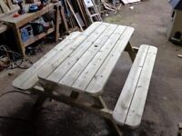 6 foot picnic table new
