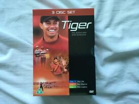 Tiger Woods 3 DVD Box Set