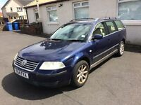 VW PASSAT TDI 1.9 TURBO DIESEL ESTATE CAR MOT MAY 2018 PX WELCOME