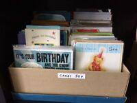 Job lot of 550 x greeting cards