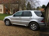 Mercedes ML 270 7 seater 11 month MOT immaculate