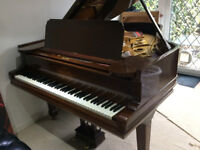 Steinway & Sons model A Grand Piano Rosewood c1900 Restored lovely instrument