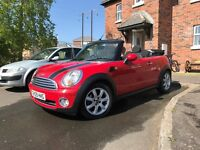 09 cooper convertible cabriolet TRADE IN WELCOME