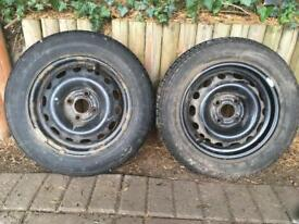 14 inch wheels with tyres