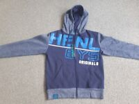 henleys zip hoodie new with tags