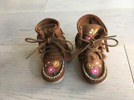 Next Infant Baby Toddler Girl Shoes Size 3