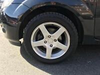 4 STUD ALLOYS & TYRES £65 (No offers)