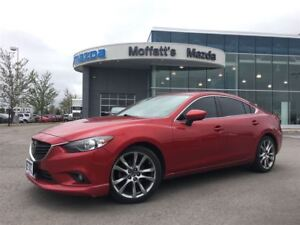 2014 Mazda MAZDA6 GT TECH PKG. LEATHER, SUNROOF, NAVIGATION