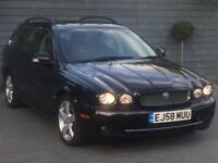 Jaguar X-tayp 2.2 diesel nav 2009 80k mileag