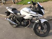 Honda cbf 125cc 14 Reg 2014 white