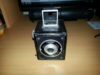 Gnome pixie camera vintage made in wales