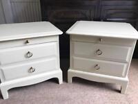 Refurbished Vintage Stag Bedside Tables/Cabinets