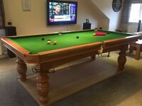 Snooker/Pool Table 8ftx4ft SlateBed Immaculate Delivery+ Installation possible!!!