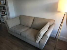 Sofa (3 seat) and chair