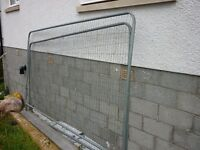 Herras security fencing