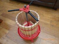 Fruit press with Fruit chopper/mincer