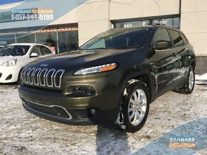 2015 Jeep Cherokee LIMITED - 4x4 99$/semaines *Ensemble de luxe/