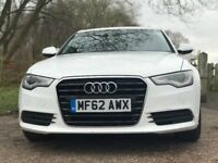 Audi A6 2012 (62 Plate) FaceLift Ibis White