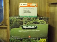 New in box 41cm Qualcast self propelled lawn mower