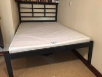 Small Double bed with foam mattress