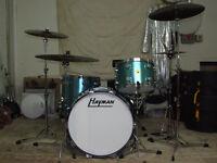 Hayman Vibrasonic vintage drum kit shells for sale