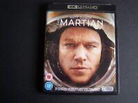 THE MARTIAN 4K ULTRA HD DVD