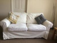 White Ikea Ektorp 2 seater Sofa - price open to offers