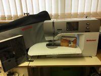 Sewing Machine - Bernina 750 Q E with integrated walking foot and Stitch Regulator foot