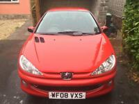 Peugeot 206 (2008 reg) for sale