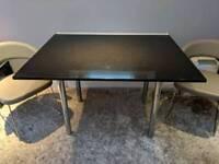Bespoke handmade granite dining table 120x90