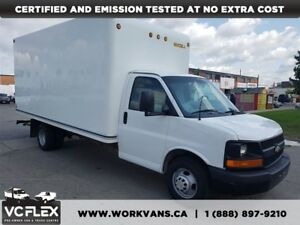 2013 GMC Savana 3500 G3500 16Ft V8 Gasoline