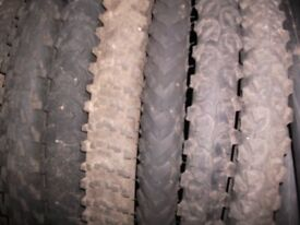 TYRES ONLY £3 EACH, TUBES ONLY £1 FOR 4,( SEE PICS )