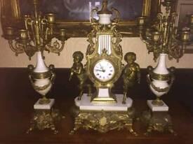 Magnificent imperial clock set