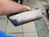MT10 akrapovic exhaust