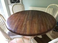 Laura Ashley Bramley dining table and four chairs