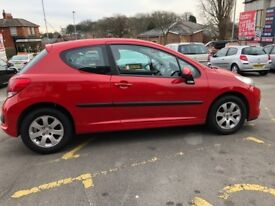 Peugeot 207 1.4 HDi S 3dr (a/c) LONG MOT, CHEAP INSURANCE, NATIONWIDE DELIVERY AVAILABLE!