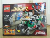 Lego Marvel Super Heroes Doc Ock Truck Heist - Set 76015 - Immaculate Condition - Can Deliver