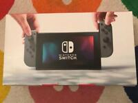 Brand new Nintendo switch !!!