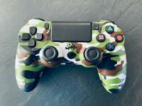 Playstation 4 Unofficial Controller Green Camouflage PS4