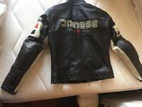 Dainese ladies leather motorcycle jacket