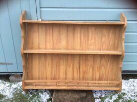 Pine kitchen / dresser shelf unit