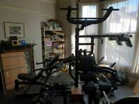 Powertec Workbench Multi System (Black) and accessories