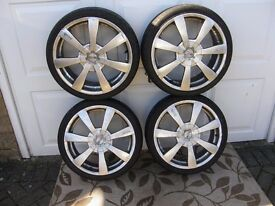 "Oz Alloy Wheels 18"" Were fitted to Mini. 4x100 and 4x108 PCD"