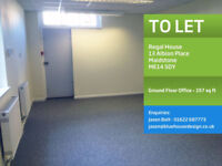 Office space To Let - Maidstone Town Centre - 257sq ft, £450 per month incl. Rent, Rates & Utilities