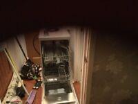 Silver slimline Bosh dishwasher