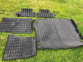 Audi Q5 car matts and boot liner